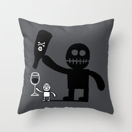 The Shadow Throw Pillow