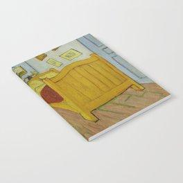 The Bedroom by Vincent van Gogh Notebook