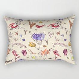 Beautiful Creatures of Earth Rectangular Pillow