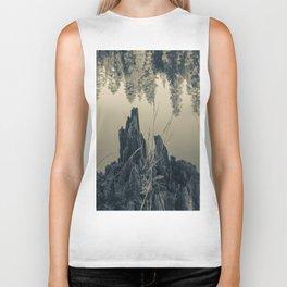 Pine Trees 4 Biker Tank
