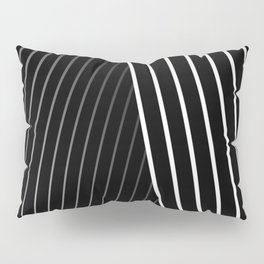 Letter 'A' Typographic Letterform Pillow Sham