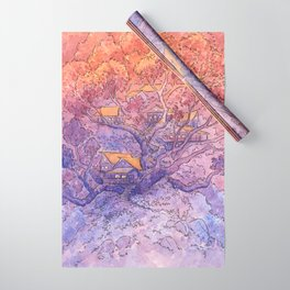 Enchanted Treehouse Wrapping Paper