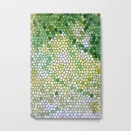 Spring Greens Metal Print