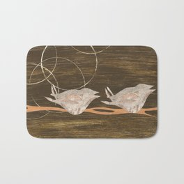 Birds Resting Bath Mat