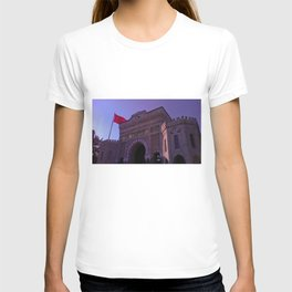 In this building educated. T-shirt