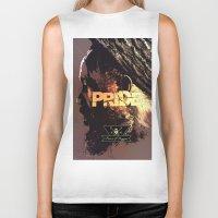 reggae Biker Tanks featuring Pride & Reggae by Dimitris Evagelou