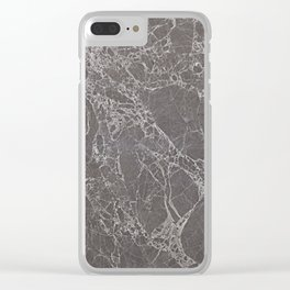 Stone Texture Surface 25 Clear iPhone Case