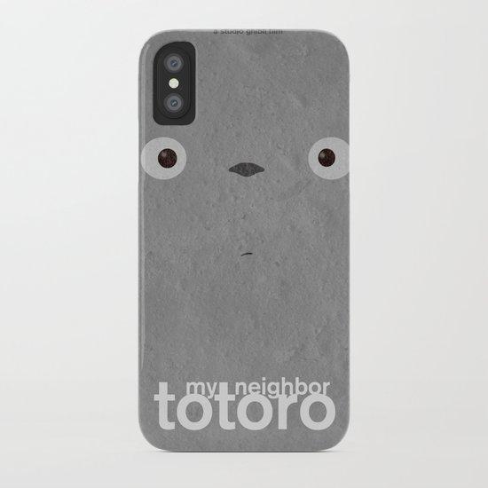 My neighbor Totoro  iPhone Case