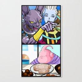 God of Buffet Destruction Canvas Print