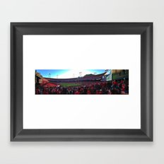 Candlestick Park Framed Art Print