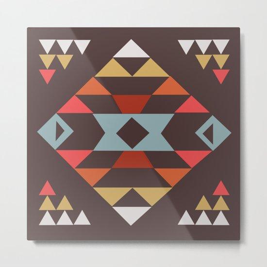 American Native Pattern No. 44 Metal Print