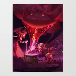 Doom Bots Promo Art League of Legends Artwork Wallpaper lol Poster