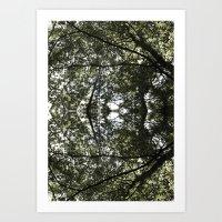 Skov Art Print