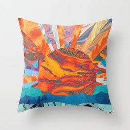 Sunrise, Sunset Throw Pillow