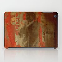 battlefield iPad Cases featuring 最後の戦士  (The Last Warrior on the Battlefield) by Fernando Vieira