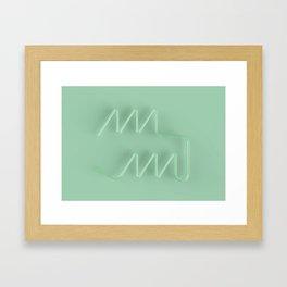 Linework Framed Art Print