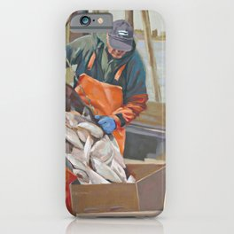 Cape Cod Fresh Fish iPhone Case