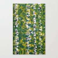 birch Canvas Prints featuring Birch by AhaC