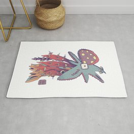 Octopus - Aquatic life Rug