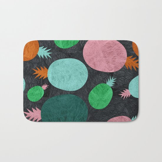 Pineapple Lovers Bath Mat