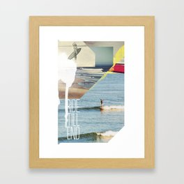 Ride Till End Framed Art Print