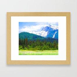 Lake Clark Park Framed Art Print