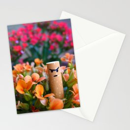 I am a Flower Stationery Cards