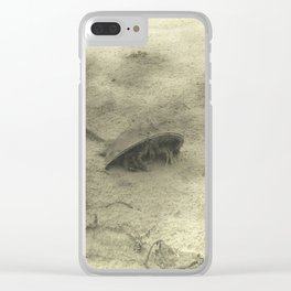 Crab Clear iPhone Case