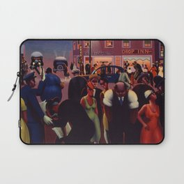 African-American 1934 Classical Masterpiece 'Black Belt' by Archibald Motley Laptop Sleeve