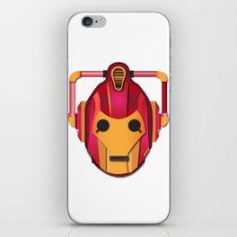 cyber iron man iPhone Skin