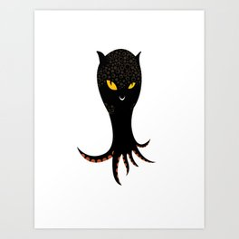 Jaguar Squid Art Print
