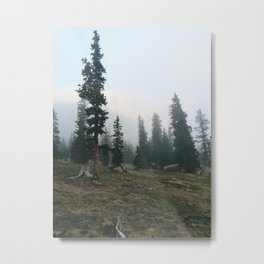6am Peaks Metal Print