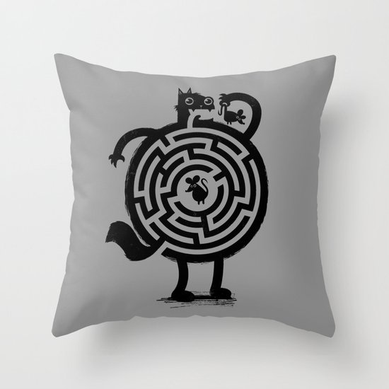 Amazin' Cat Throw Pillow