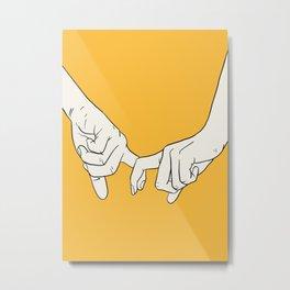 HANDS 5 Metal Print