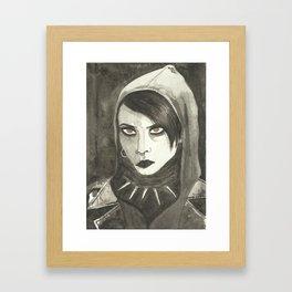 I am also an alien Framed Art Print