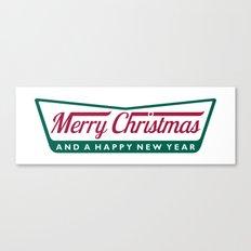 Have A Merry Krispy Christmas Canvas Print