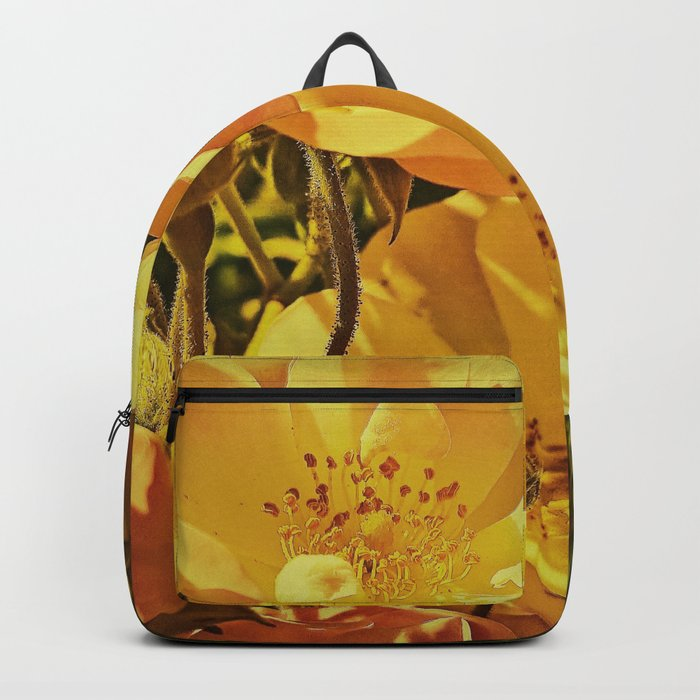 Vintage Climbing Roses Backpack