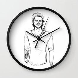 Pencil Zayn Wall Clock