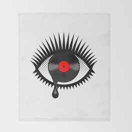 Weeping Vinyl Throw Blanket