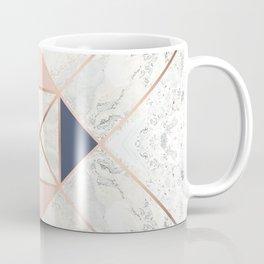 Copper & Marble & Pastel 02 Coffee Mug