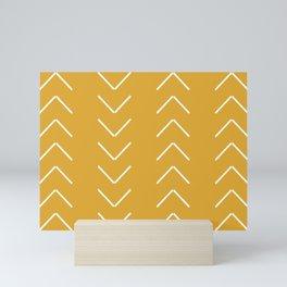 V / Yellow Mini Art Print