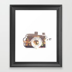 camera print Framed Art Print