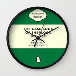 The Case-Book of Sherlock Holmes Wall Clock