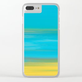 Morning Sea Clear iPhone Case