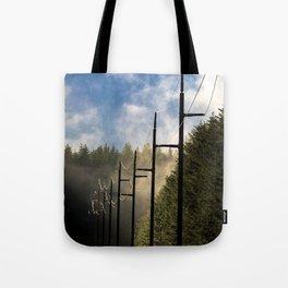 Pole Line Tote Bag