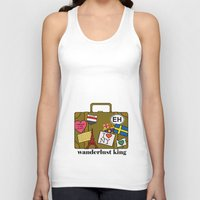 Wanderlust King Unisex Tank Top