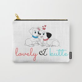 lovely and kutte dogs Carry-All Pouch