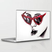 lolita Laptop & iPad Skins featuring Lolita  by Bella Harris
