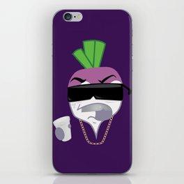 Turnt Up the Turnip iPhone Skin