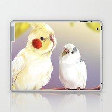 Budgie and Cockatiel Laptop & iPad Skin